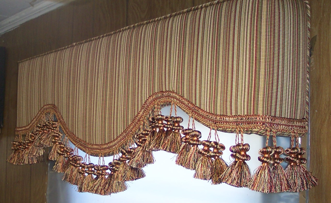 Phoenix AZ upholstered cornice boards