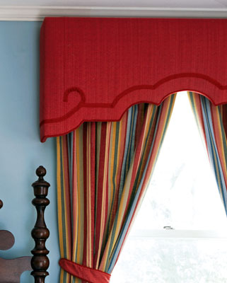 Phoenix AZ Upholstered-cornice-boards