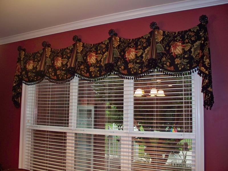 custom simple valances with window model valance